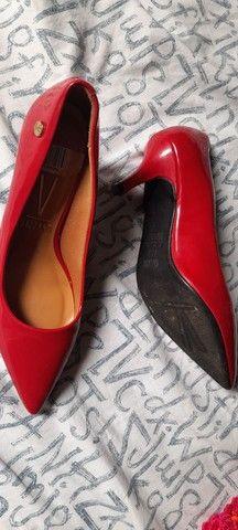 Scarpin vermelho  - Foto 2