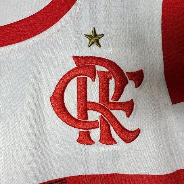 Regata Flamengo Basquete II 20/21 Branco - Foto 5