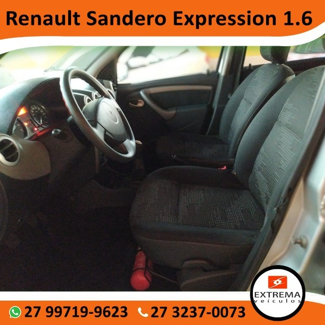 Renault Sandero Expression 1.6 - Foto 9