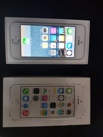 IPhone 5s silver 16GB completo na caixa