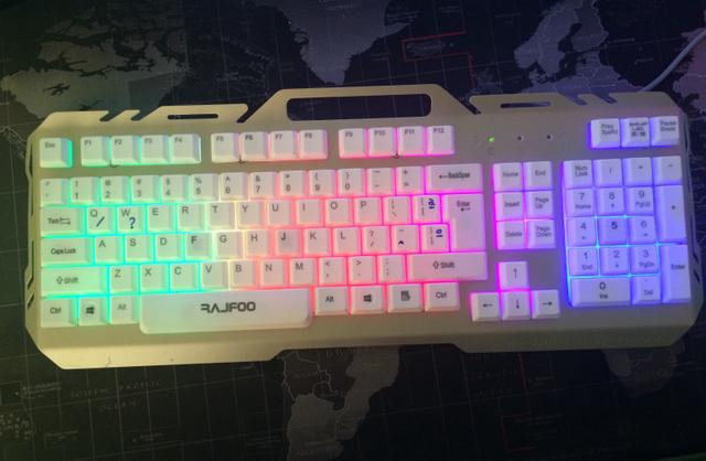 Teclado GAMER Led