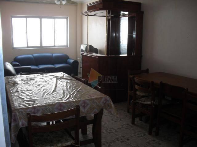 Apartamento para alugar, 90 m² por R$ 1.700,00/mês - Canto do Forte - Praia Grande/SP - Foto 3
