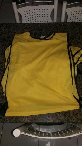 Colete para futebol, 10 coletes amarelos