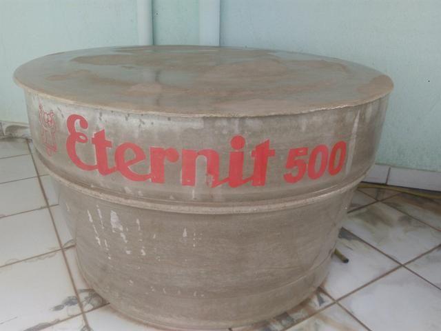 Caixa d'água eternit 500 litros ( amianto)