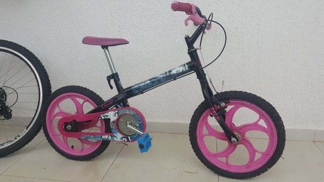 Bicicleta aro 16, Caloi, Monster High