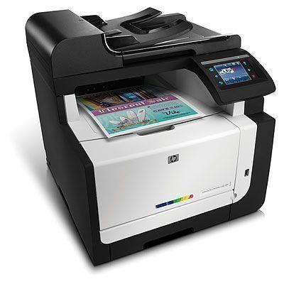 Impressora multifuncional HP LaserJet Pro CM1415fnw