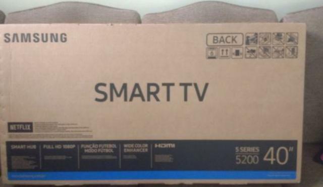 Tv led Samsung 40 na caixa novinha
