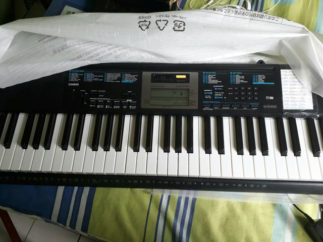 Casio lk 170 troco por piano