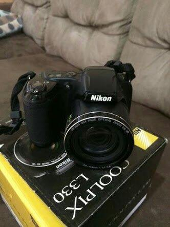 Câmera Nikon top semi professional pra hoje aimda