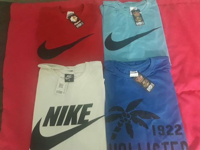 Camisas De Marca Gola Redonda