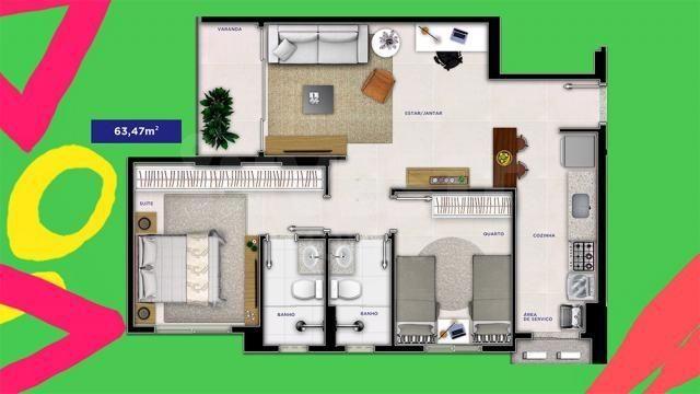 Apartamento à venda com 2 dormitórios em Serrinha, Goiânia cod:620871 - Foto 11