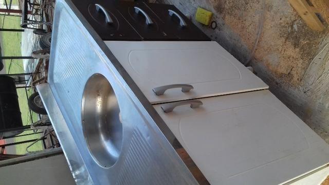 Panela de ferro, fundido, 31 litros - Foto 5