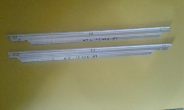 Tv aoc le40h157 - par de leds funcionando padrao de fabrica, coisa rara, compra garantida