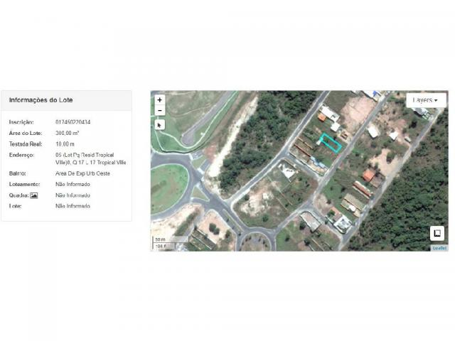 Loteamento/condomínio à venda em Tropical ville, Cuiaba cod:17031 - Foto 3