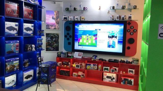 Fliperama >18mil Jogos< Estampas Exclusivas de Designer Profissional! Bluetooth e Rede! - Foto 5