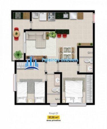 Apartamento 2 dormitórios e Sacada Jardim Paulista - Apartamento em Lançamentos ... - Foto 15