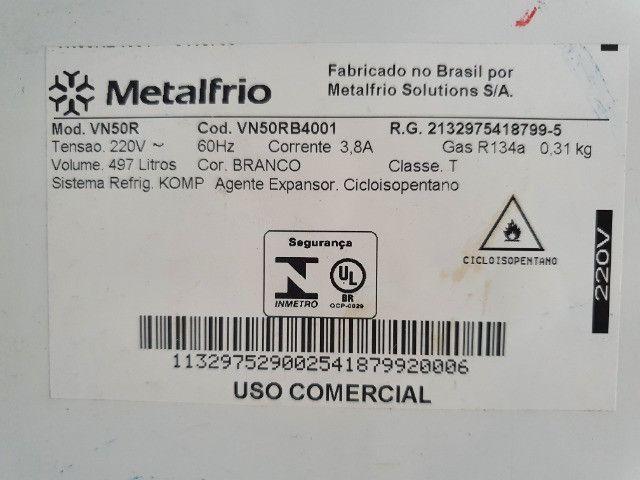 Refrigerador Metalfrio VN50R 497 Lts 220v - Foto 3