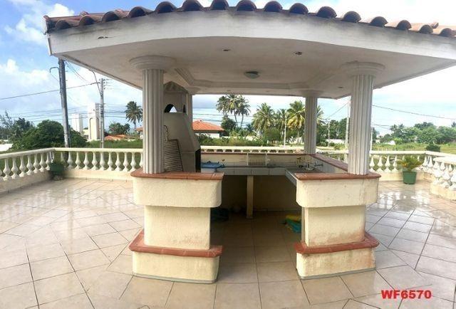 Casa duplex com 3 quartos, vista mar, 6 vagas, nascente, piscina, Bairro de Lourdes, Dunas - Foto 15