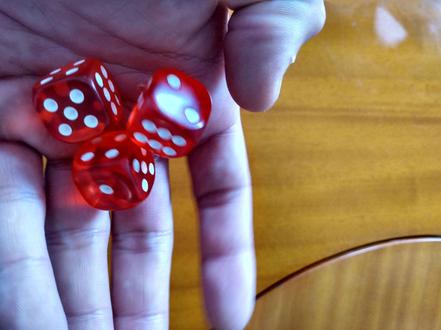 Dados profissionais para poker e outros jogos aceito cartão e trocas - Foto 3