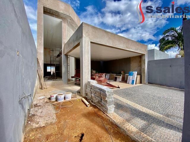 Linda Casa em Vicente Pires com 03 Suítes - Lazer Completo! Brasília DF - Foto 4