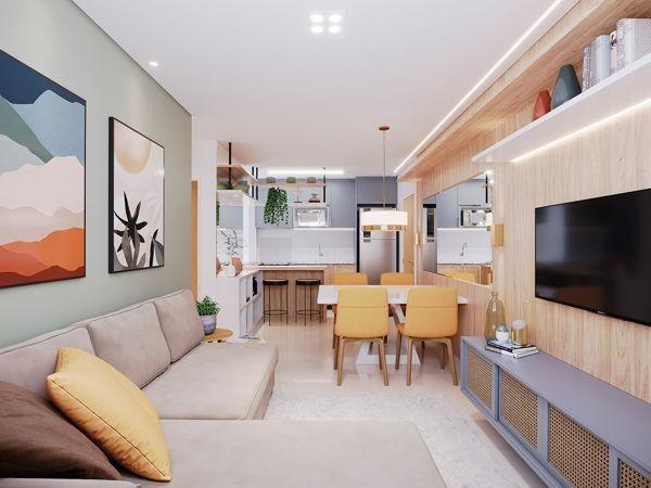 Apartamento com 2 quartos no Raízes Parque Cascavel - Bairro Vila Rosa em Goiânia - Foto 2