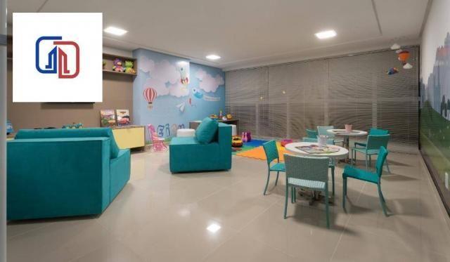 Apartamento com 2 dormitórios à venda, 62 m² por R$ 377.137 - Manaíra - João Pessoa/PB - Foto 13