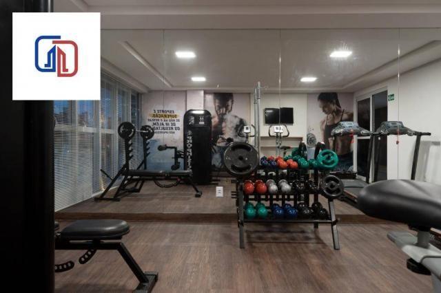 Apartamento com 2 dormitórios à venda, 62 m² por R$ 377.137 - Manaíra - João Pessoa/PB - Foto 11