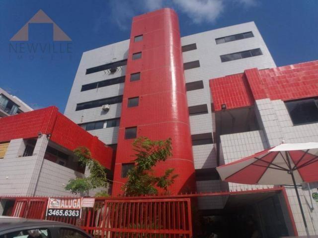 Sala para alugar, 46 m² por R$ 2.107,00/mês - Boa Viagem - Recife/PE