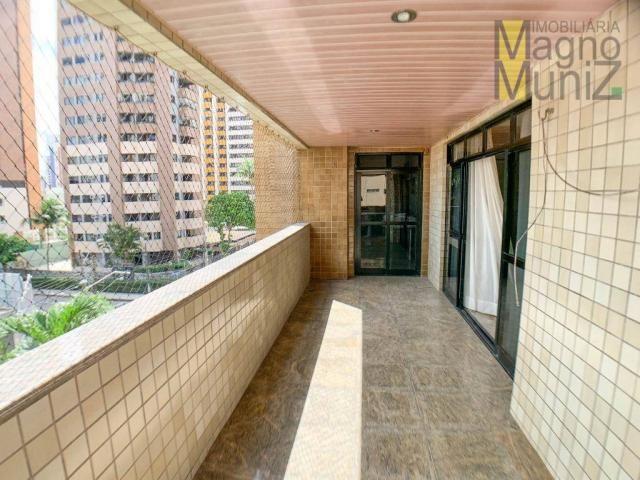 Apartamento com 4 dormitórios para alugar, 303 m² por R$ 4.200,00/mês - Aldeota - Fortalez - Foto 3