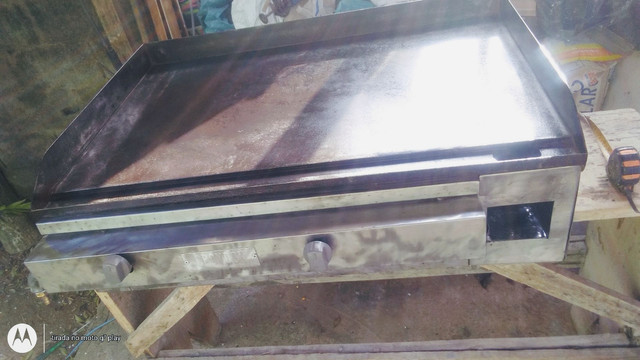 Chapa industrial a gás - Foto 2