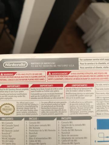 Nintendo Wii Caixa Completo C/ Wii Sports + Plataforma - Foto 4