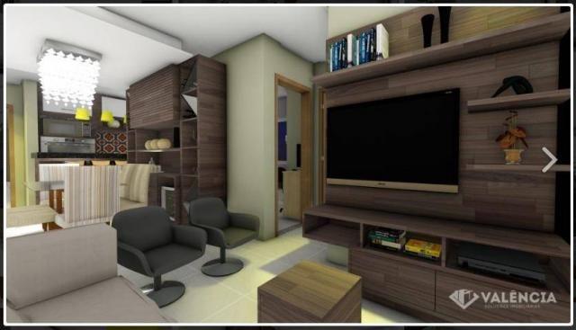 Apartamento com 1 dormitórios à venda, 39 m² por R$ 175.000,00 - São Cristóvão - Cascavel/ - Foto 8