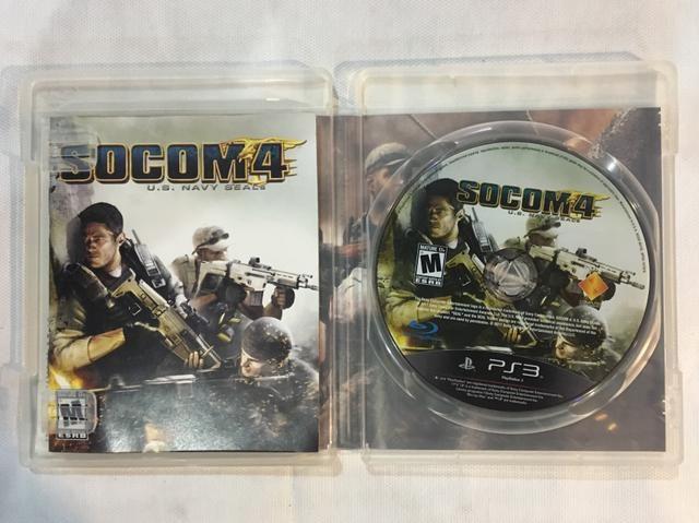 Jogo PS3 SOCOM 4 + SHARP SHOOTER - Foto 3