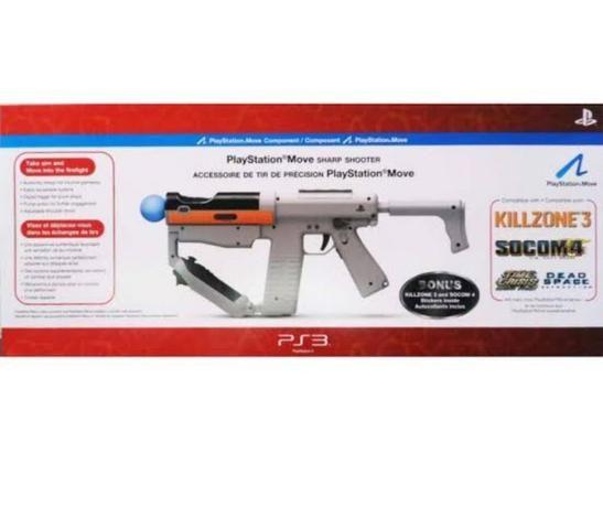 Jogo PS3 SOCOM 4 + SHARP SHOOTER - Foto 4