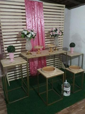 Vendo móveis para decoração de festas em perfeito estado de conservação - Foto 2