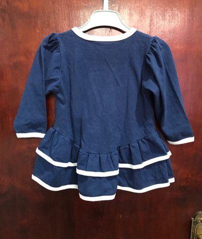 Vestido Infantil Marinheira - TAM 1 ano - Foto 2