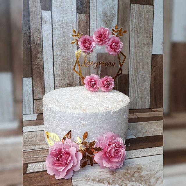 Topos de bolo  - Foto 4