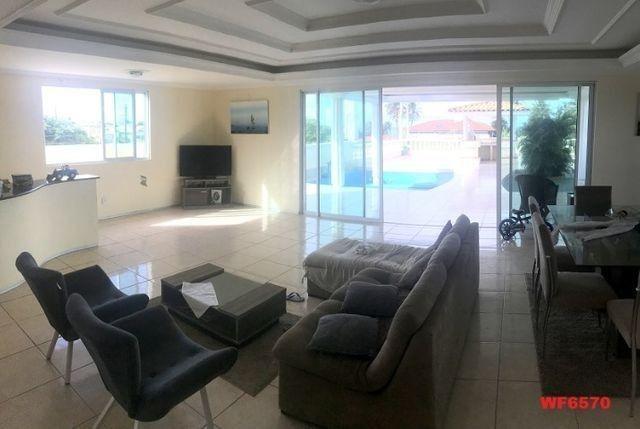 Casa duplex com 3 quartos, vista mar, 6 vagas, nascente, piscina, Bairro de Lourdes, Dunas - Foto 4