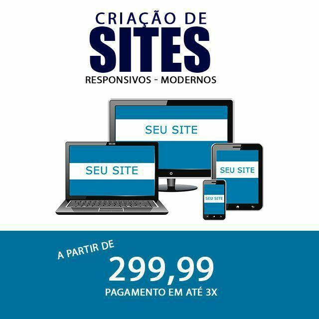Criação de sites e loja virtual