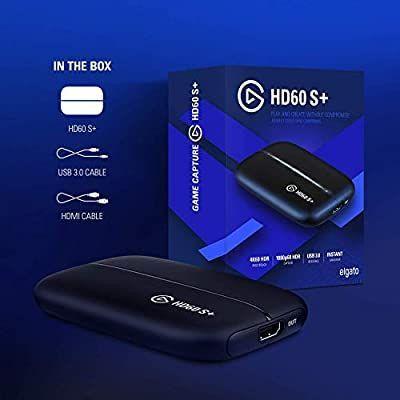 Placa de Captura Elgato HD 60 S+