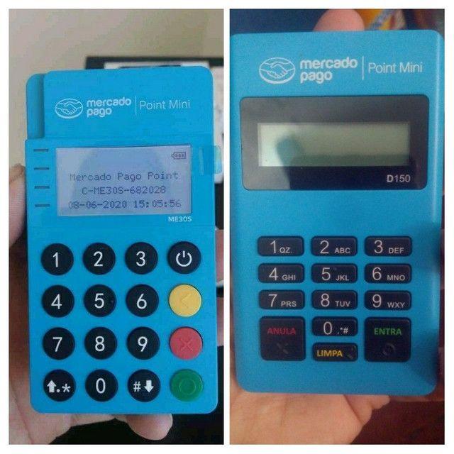 Maquininha de cartão point Mini D 150 Mercado Pago