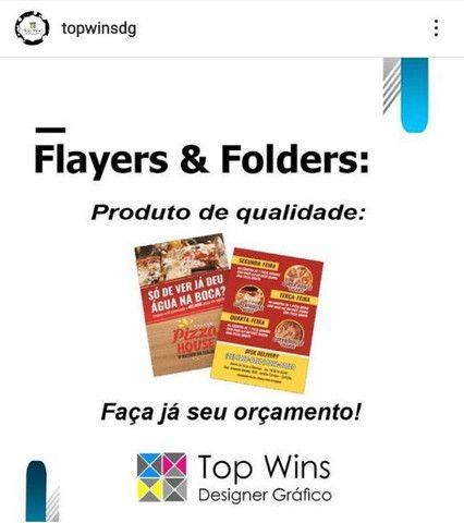 PANFLETOS (FLAYERS E FOODERS), MELHOR 0RECO DA REGIÃO.