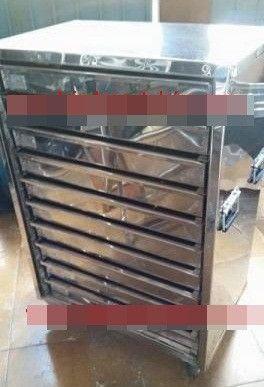 Gaveteiro Térmico Inox/Armário Para Pastéis - Pasteleiro de Feira Pagamento Facilitado