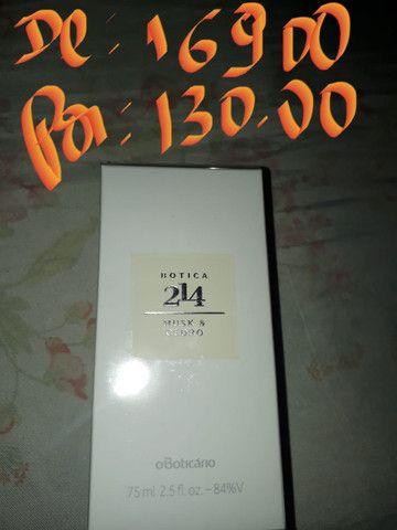 Perfume 214 - feminino O Boticário 130,00