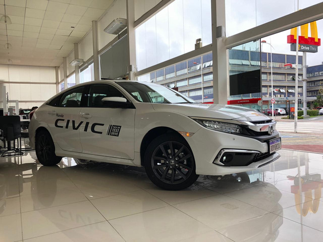 Honda Civic Touring 1.5 2021/2021 Zero Km - Foto 4