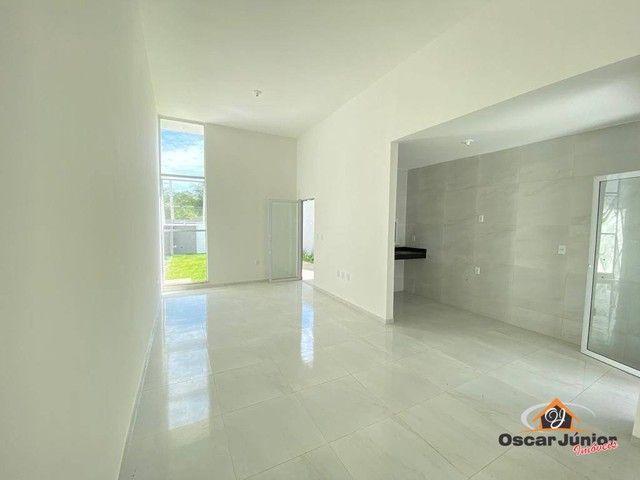 Casa à venda, 89 m² por R$ 295.000,00 - Centro - Eusébio/CE - Foto 3