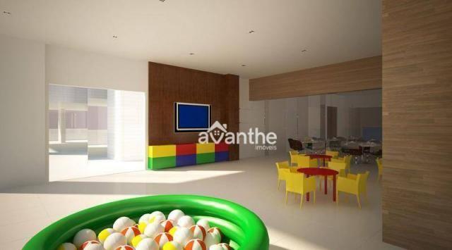 Apartamento com 3 dormitórios à venda, 107 m² por R$ 684.000 - Noivos / Zona Leste / Poeti - Foto 7
