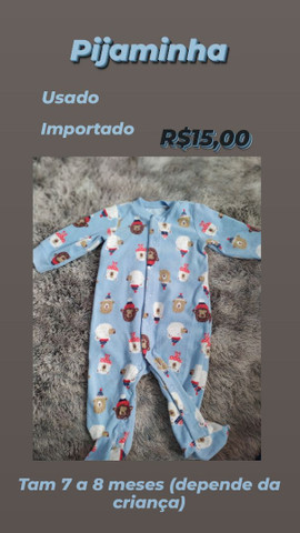 Roupas de bebê - menina - Foto 2
