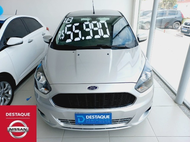 Ford Ka 1.5 SEL 2018 Prata