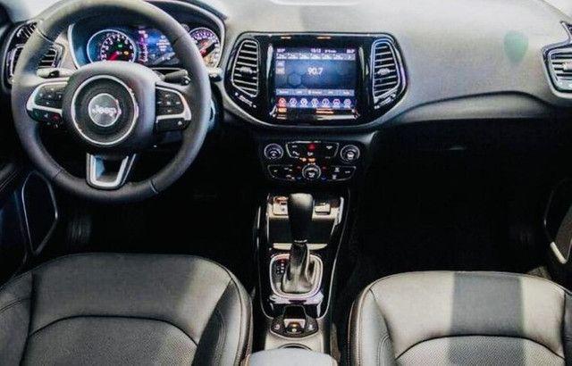 Jeep Compass Limited Flex 2021 Okm A Pronta Entrega Melhor Preço da Baixada !!! - Foto 6